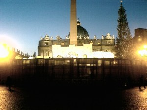 Presépio no Vaticano 2007