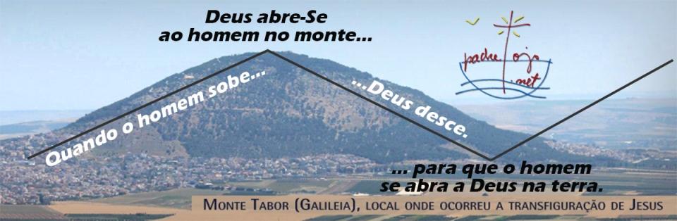 Transfiguração vista por padretojo
